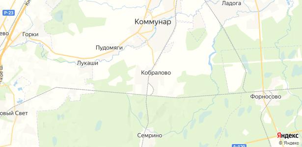 Кобралово на карте