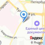 Стандарт-М на карте Санкт-Петербурга