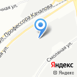 Редуктор на карте Санкт-Петербурга