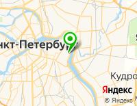 Карта проезда в компанию Динамика СПб