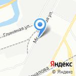 Ансант на карте Санкт-Петербурга