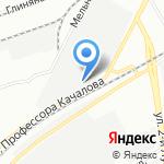 Внедренческий центр перспективных технологий на карте Санкт-Петербурга