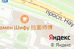 Схема проезда до компании Турсфера в Санкт-Петербурге