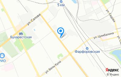Местоположение на карте пункта техосмотра по адресу г Санкт-Петербург, ул Софийская, д 8 к 1 стр 1