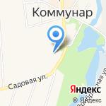 Сытый кот на карте Санкт-Петербурга