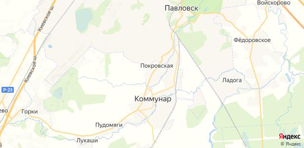 Покровская на карте