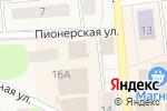 Схема проезда до компании Народная семьЯ в Коммунаре