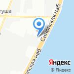 Энергосервисная компания Ленэнерго на карте Санкт-Петербурга