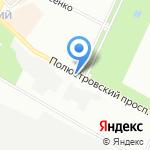 Остров спорта на карте Санкт-Петербурга