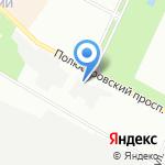 Пальмира-Сервис на карте Санкт-Петербурга