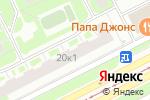 Схема проезда до компании Francesco Donni в Санкт-Петербурге
