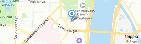 RLC на карте Санкт-Петербурга