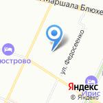 Детский сад №12 на карте Санкт-Петербурга
