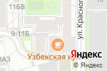 Схема проезда до компании Акбор в Санкт-Петербурге