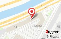 Схема проезда до компании Ареал-Принт в Санкт-Петербурге