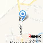 НеваЕвроДрев на карте Санкт-Петербурга