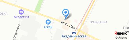 ЦветыОптРозница на карте Санкт-Петербурга