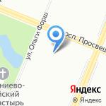 Детский сад №73 на карте Санкт-Петербурга