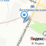 Хорошие Двери на карте Санкт-Петербурга