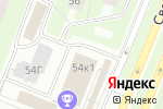 Схема проезда до компании Жилкомсервис №1 Калининского района в Санкт-Петербурге