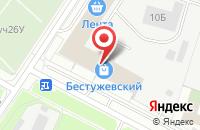 Схема проезда до компании Атри в Санкт-Петербурге