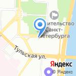 СТРОЙТЕК на карте Санкт-Петербурга