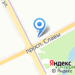 КОРКОМ на карте Санкт-Петербурга