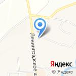 Киоск по продаже религиозных товаров на карте Санкт-Петербурга