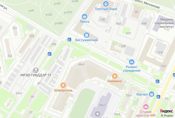 купить квартиру в ЖК Полюстрово Парк