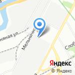 Золотой Дом на карте Санкт-Петербурга