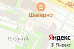 Схема проезда до компании Мона Лиза в Санкт-Петербурге