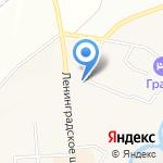 Обувной магазин на карте Санкт-Петербурга