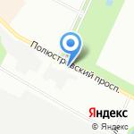 Склад-шин на карте Санкт-Петербурга
