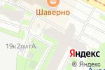 Схема проезда до компании Строитель в Санкт-Петербурге