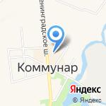 Малахитовая шкатулка на карте Санкт-Петербурга