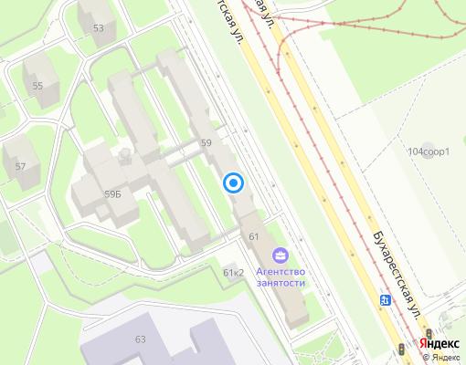 Товарищество собственников жилья «Айвенго» на карте Санкт-Петербурга