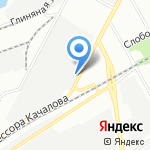 Качалова на карте Санкт-Петербурга