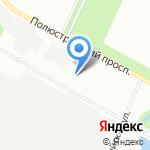 Общеобразовательная школа №10 на карте Санкт-Петербурга