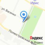 Приемная Уполномоченного по правам человека в Ленинградской области на карте Санкт-Петербурга