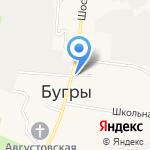 Киоск фастфудной продукции на карте Санкт-Петербурга