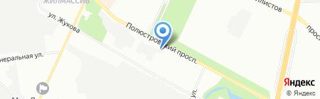 Косметика России и Белоруссии на карте Санкт-Петербурга