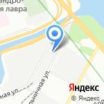 Carlife на карте Санкт-Петербурга