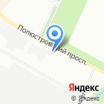 Аксесс-Авто на карте Санкт-Петербурга
