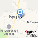 Лелик на карте Санкт-Петербурга