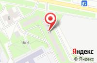 Схема проезда до компании Микрофон-М в Санкт-Петербурге