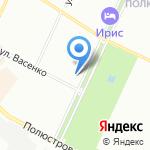 Крошка Ру на карте Санкт-Петербурга