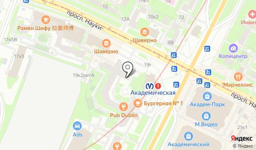 Велес. Схема проезда в Санкт-Петербурге