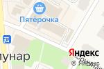 Схема проезда до компании Концепт СПБ в Коммунаре