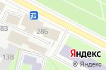 Схема проезда до компании Шкода Люкс в Санкт-Петербурге