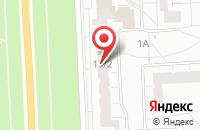 Схема проезда до компании КОМПЛЕКТ ПЛЮС в Пушкине